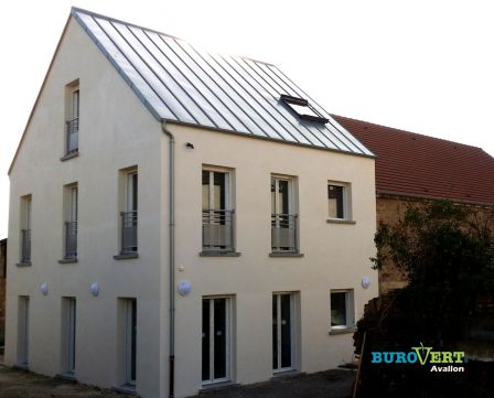 Le deuxième complexe Burovert® pour l'accueil des entreprises est opérationnel à Avallon…